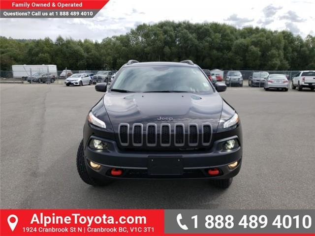 2018 Jeep Cherokee Trailhawk (Stk: 5300056N) in Cranbrook - Image 8 of 27