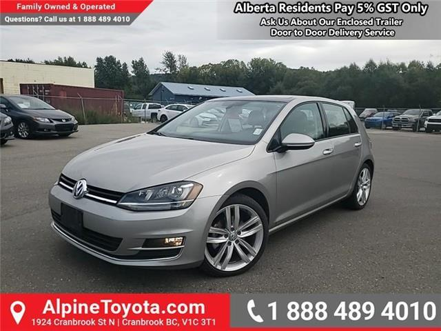 2016 Volkswagen Golf  (Stk: W029039A) in Cranbrook - Image 1 of 25