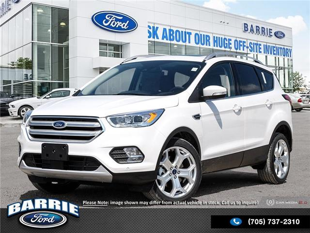 2019 Ford Escape Titanium (Stk: T1124) in Barrie - Image 1 of 27