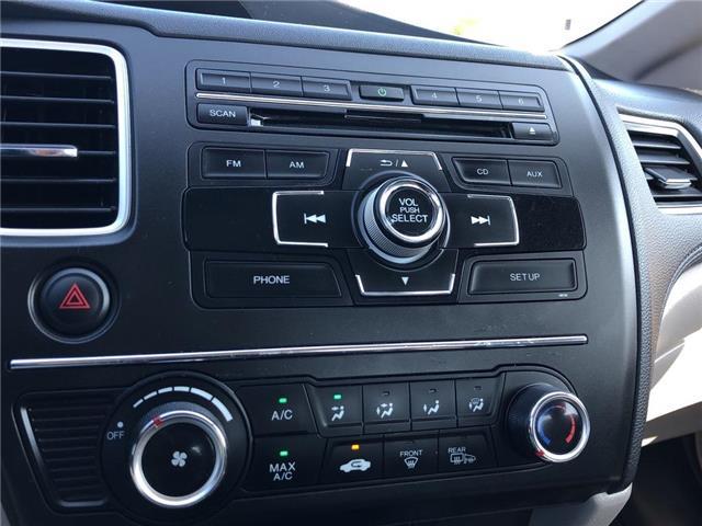 2015 Honda Civic LX (Stk: 58630DA) in Scarborough - Image 16 of 21