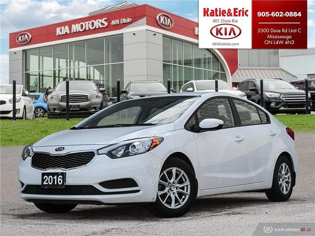 2016 Kia Forte LX (Stk: ST20014A) in Mississauga - (**manual, no A/C)