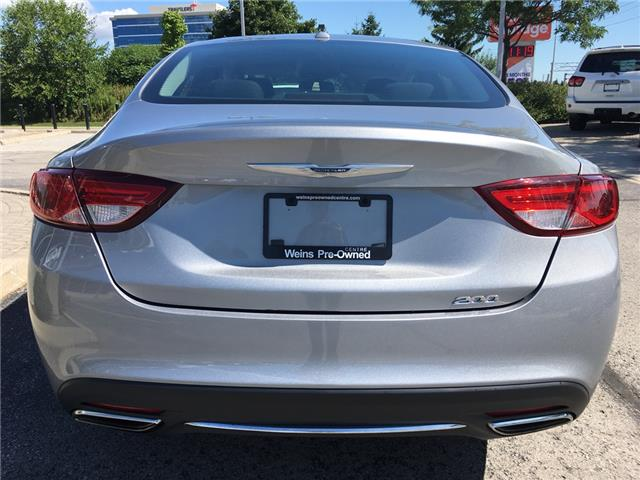 2015 Chrysler 200 Limited (Stk: 1787W) in Oakville - Image 6 of 27