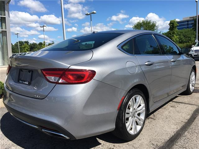 2015 Chrysler 200 Limited (Stk: 1787W) in Oakville - Image 7 of 27