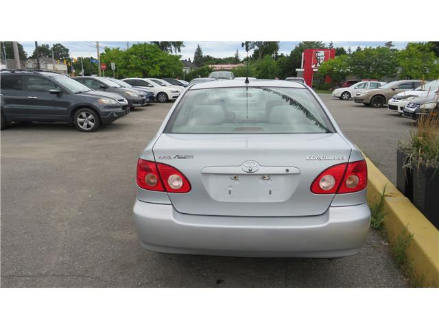 2007 Toyota Corolla CE (Stk: ) in Ottawa - Image 6 of 10