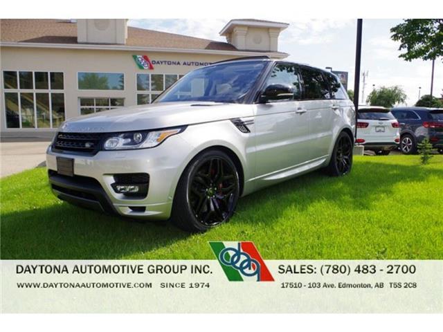 2016 Land Rover Range Rover Sport V8 Supercharged (Stk: 7844) in Edmonton - Image 1 of 23
