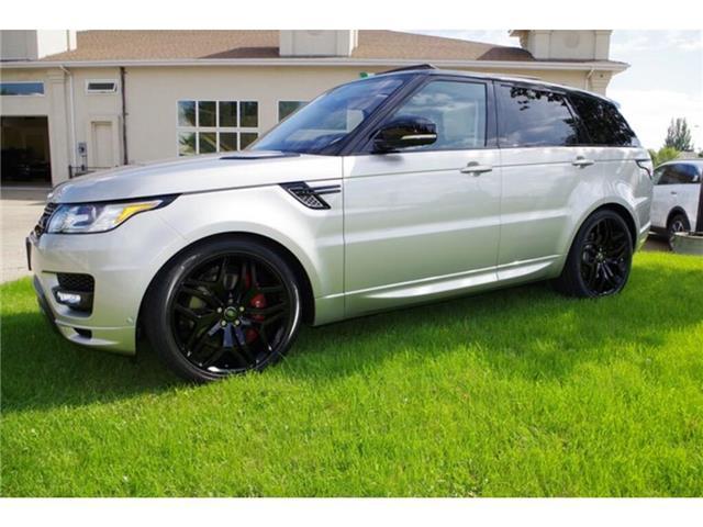 2016 Land Rover Range Rover Sport V8 Supercharged (Stk: 7844) in Edmonton - Image 9 of 23