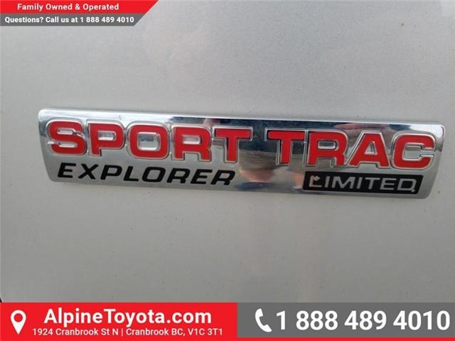 2010 Ford Explorer Sport Trac Limited (Stk: 5700876A) in Cranbrook - Image 25 of 26