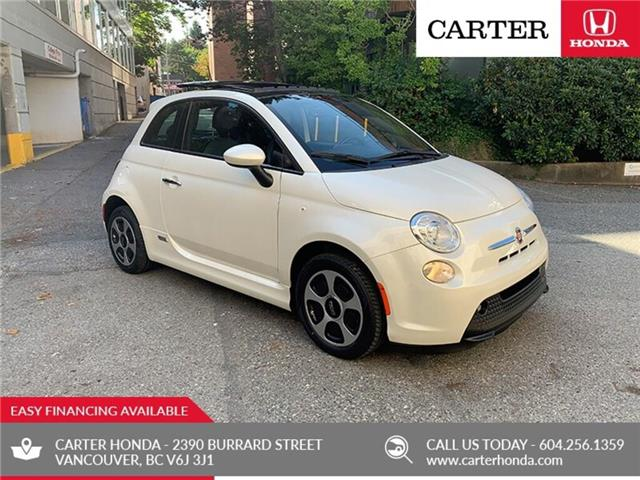 2016 Fiat 500E 2dr HB + SUNROOF + CARTER HONDA CLEAROUT! (Stk: B02820) in Vancouver - Image 1 of 23