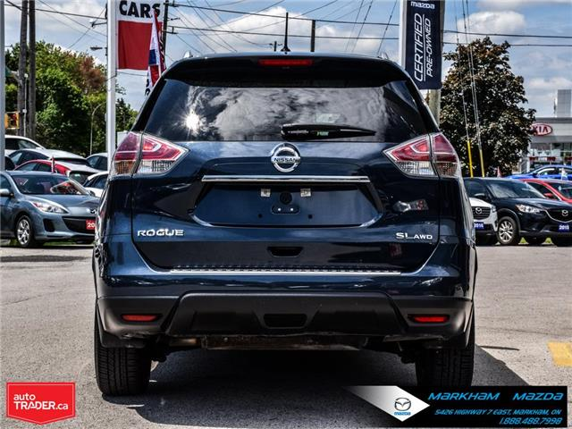 2016 Nissan Rogue  (Stk: D5190693A) in Markham - Image 6 of 30