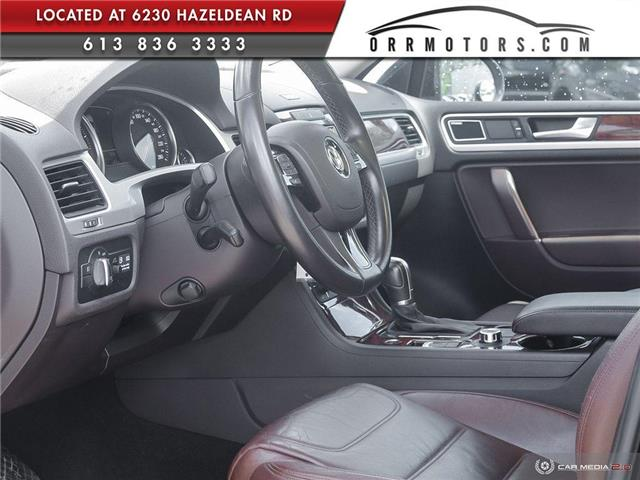 2011 Volkswagen Touareg 3.0 TDI Execline (Stk: 5877) in Stittsville - Image 12 of 30