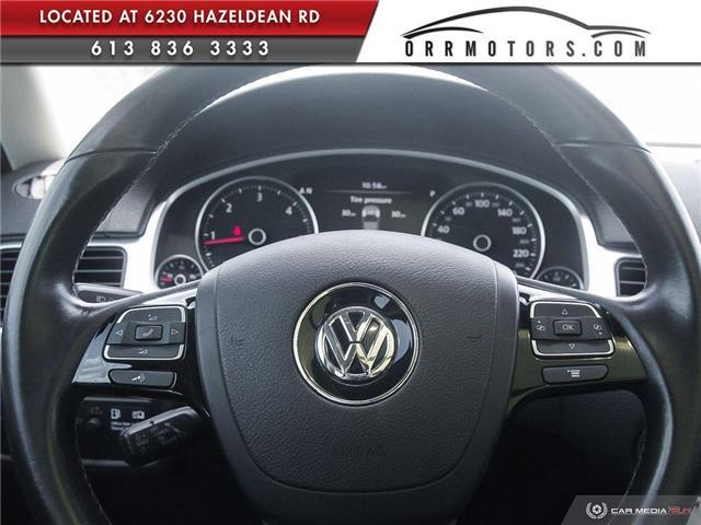 2011 Volkswagen Touareg 3.0 TDI Execline (Stk: 5877) in Stittsville - Image 13 of 30