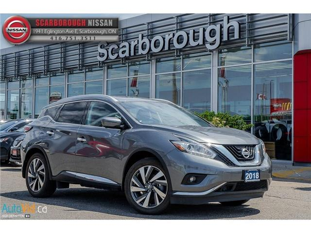 2018 Nissan Murano  (Stk: L18007) in Scarborough - Image 1 of 27