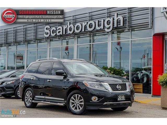 2015 Nissan Pathfinder SL (Stk: 519027A) in Scarborough - Image 1 of 26