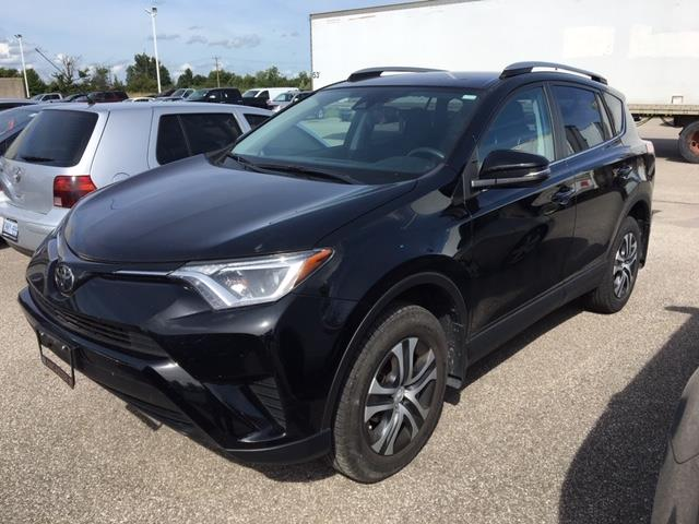 Owen Sound Toyota >> 2017 Toyota Rav4 Le 1 Owner Low Kms Bluetooth Camera At