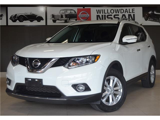 2016 Nissan Rogue SV (Stk: E7288A) in Thornhill - Image 1 of 29
