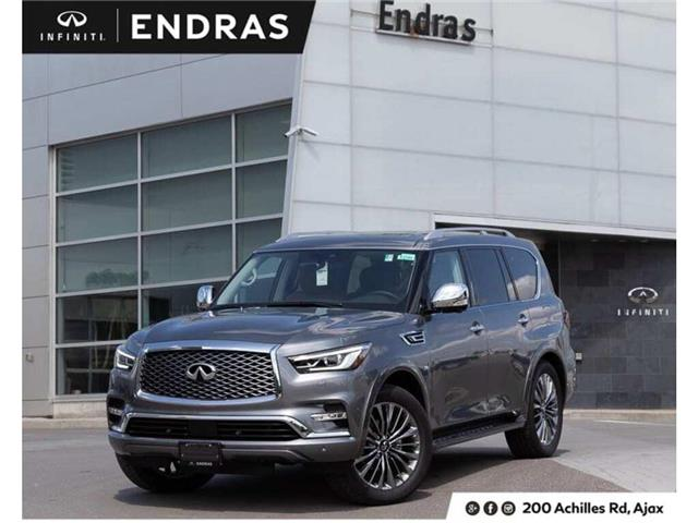 2019 Infiniti QX80 LUXE 7 Passenger (Stk: 80115) in Ajax - Image 1 of 30