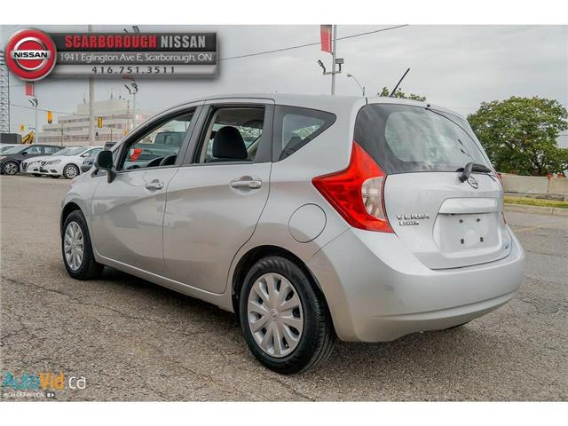 2014 Nissan Versa Note 1.6 SV (Stk: B19012A) in Scarborough - Image 10 of 23