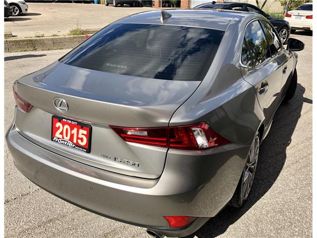 2015 Lexus IS 250 Base (Stk: 024603) in Toronto - Image 5 of 13