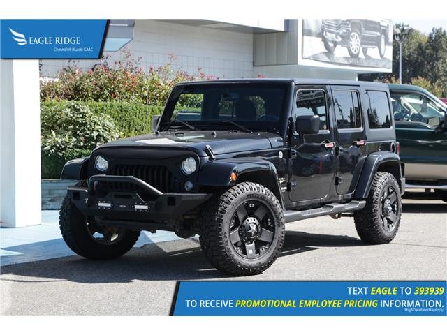 2015 Jeep Wrangler Unlimited Sahara (Stk: 159268) in Coquitlam - Image 1 of 15