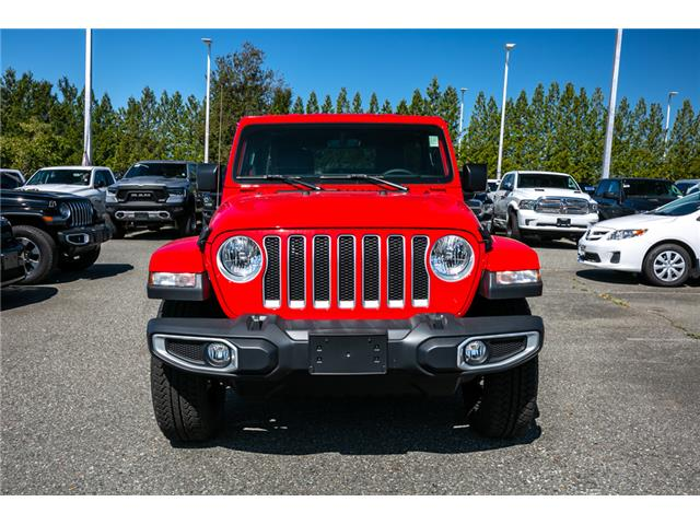2019 Jeep Wrangler Unlimited Sahara (Stk: K647826) in Abbotsford - Image 2 of 23