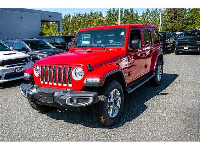 2019 Jeep Wrangler Unlimited Sahara (Stk: K647826) in Abbotsford - Image 3 of 23