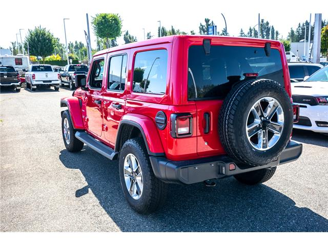 2019 Jeep Wrangler Unlimited Sahara (Stk: K647826) in Abbotsford - Image 5 of 23
