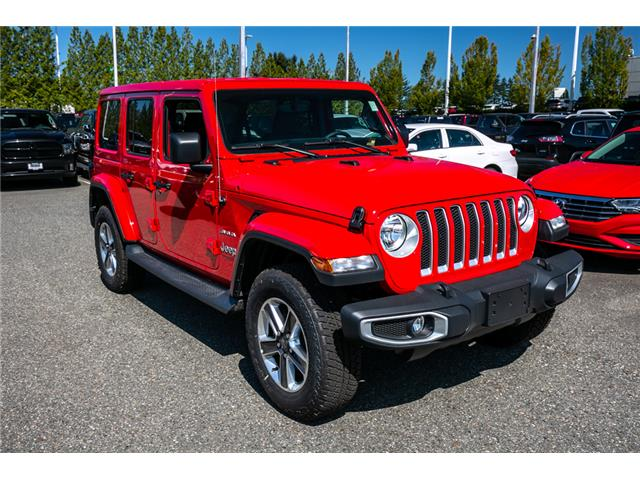 2019 Jeep Wrangler Unlimited Sahara (Stk: K647826) in Abbotsford - Image 9 of 23