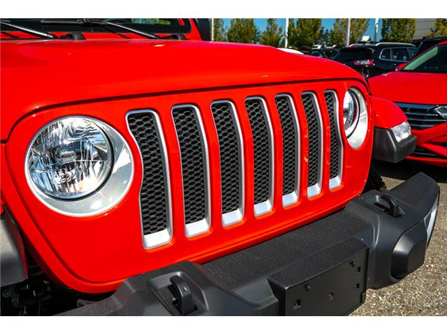 2019 Jeep Wrangler Unlimited Sahara (Stk: K647826) in Abbotsford - Image 10 of 23