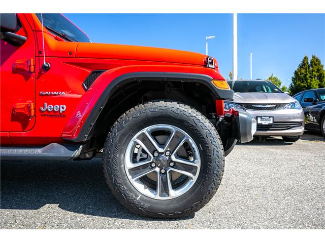 2019 Jeep Wrangler Unlimited Sahara (Stk: K647826) in Abbotsford - Image 12 of 23