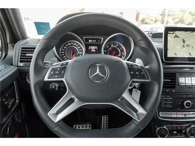 2017 Mercedes-Benz AMG G 63 Base (Stk: 19HMS711) in Mississauga - Image 12 of 25