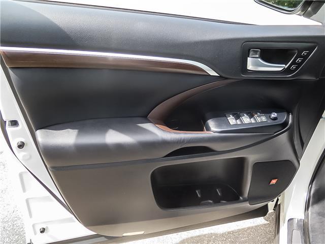 2016 Toyota Highlander Limited (Stk: 95545R) in Waterloo - Image 10 of 27