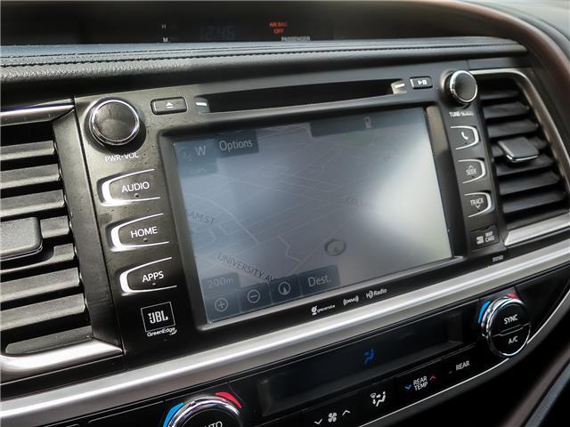 2016 Toyota Highlander Limited (Stk: 95545R) in Waterloo - Image 25 of 27