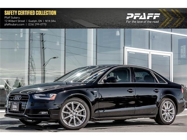 2016 Audi A4 2.0T Progressiv plus (Stk: SU0088) in Guelph - Image 1 of 22