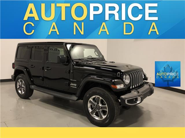 2019 Jeep Wrangler Unlimited Sahara (Stk: D0519) in Mississauga - Image 1 of 28