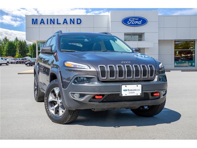 2018 Jeep Cherokee Trailhawk 1C4PJMBXXJD616280 P6280 in Vancouver