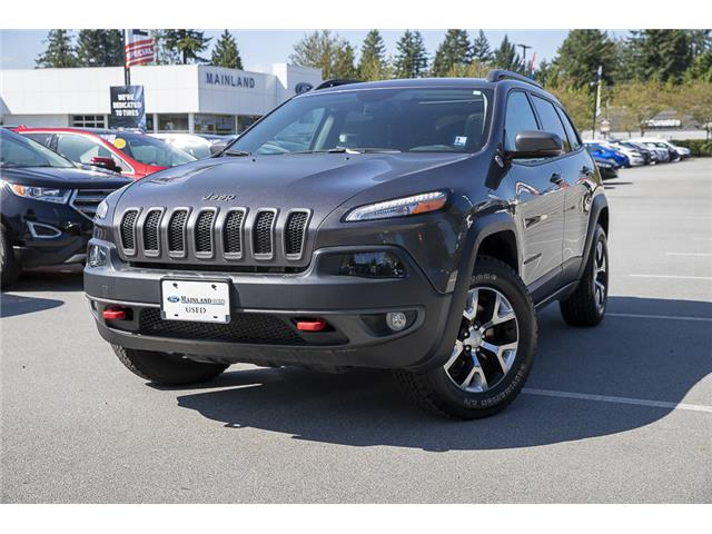 2018 Jeep Cherokee Trailhawk (Stk: P6280) in Vancouver - Image 3 of 27
