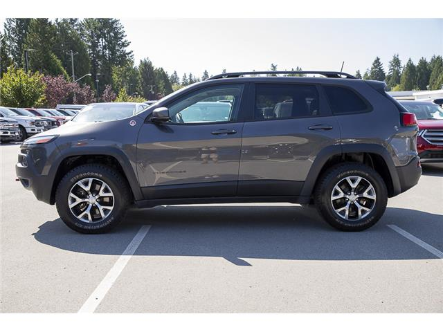 2018 Jeep Cherokee Trailhawk (Stk: P6280) in Vancouver - Image 4 of 27