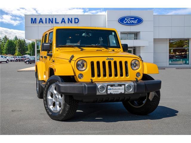 2015 Jeep Wrangler Unlimited Sahara 1C4BJWEG3FL737201 P9262A in Vancouver