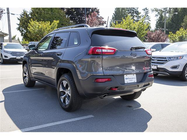 2018 Jeep Cherokee Trailhawk (Stk: P6280) in Vancouver - Image 5 of 27