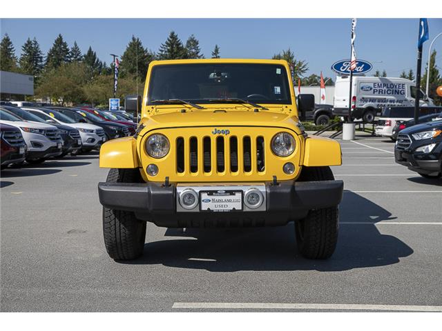 2015 Jeep Wrangler Unlimited Sahara (Stk: P9262A) in Vancouver - Image 2 of 22