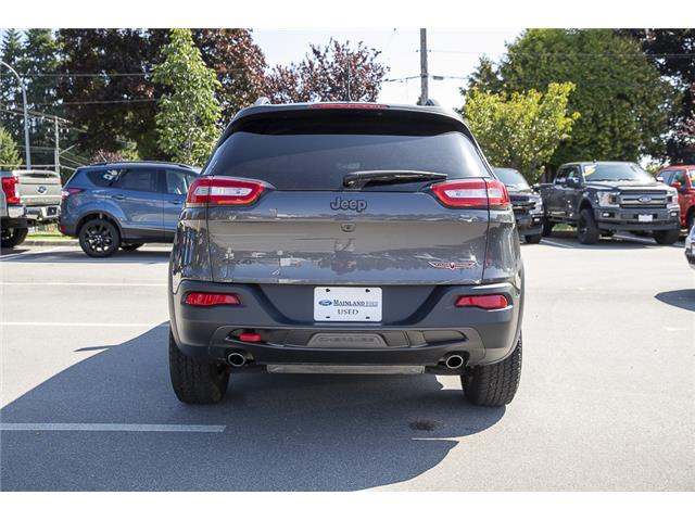 2018 Jeep Cherokee Trailhawk (Stk: P6280) in Vancouver - Image 6 of 27