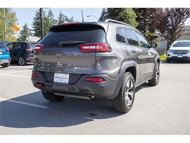 2018 Jeep Cherokee Trailhawk (Stk: P6280) in Vancouver - Image 7 of 27