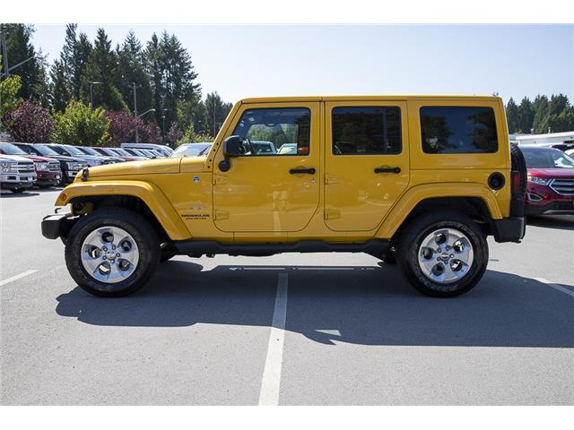 2015 Jeep Wrangler Unlimited Sahara (Stk: P9262A) in Vancouver - Image 4 of 22
