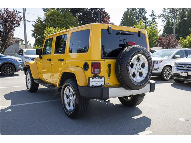 2015 Jeep Wrangler Unlimited Sahara (Stk: P9262A) in Vancouver - Image 5 of 22