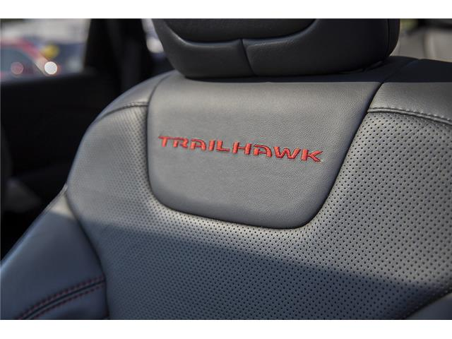 2018 Jeep Cherokee Trailhawk (Stk: P6280) in Vancouver - Image 19 of 27