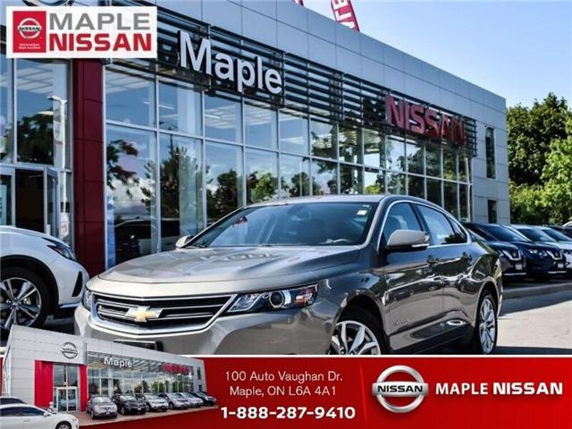 2018 Chevrolet Impala V6 LT-Leather,Roof,Alloys,Low Mileage trade in! (Stk: M18T011A) in Maple - Image 1 of 24