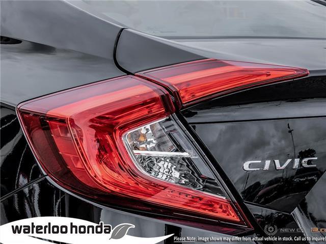 2019 Honda Civic LX (Stk: H6086) in Waterloo - Image 11 of 23