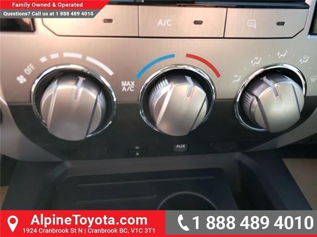 2019 Toyota Tundra SR5 Plus 5.7L V8 (Stk: X860053) in Cranbrook - Image 20 of 25