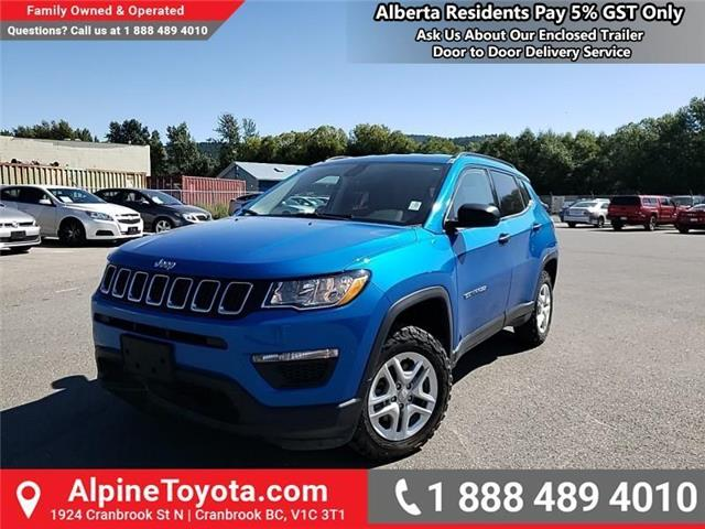 2018 Jeep Compass Sport (Stk: X108361N) in Cranbrook - Image 1 of 22