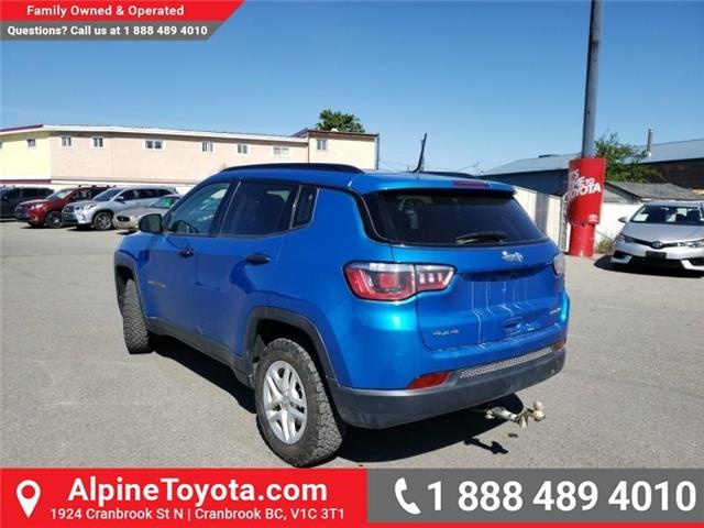 2018 Jeep Compass Sport (Stk: X108361N) in Cranbrook - Image 3 of 22